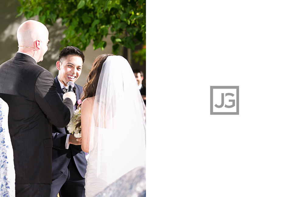 Walt Disney Concert Hall Wedding Ceremony