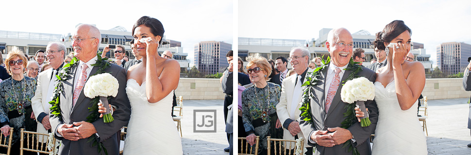 Walt Disney Concert Hall Wedding Ceremony