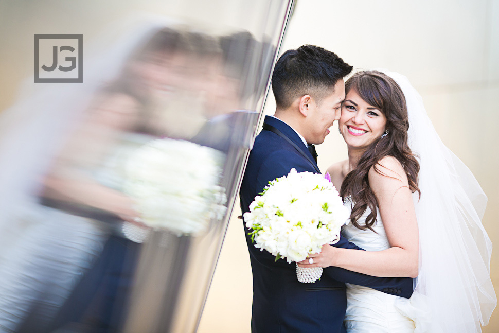 Walt Disney Concert Hall Wedding Photography | Leslie-Anne & Reggie