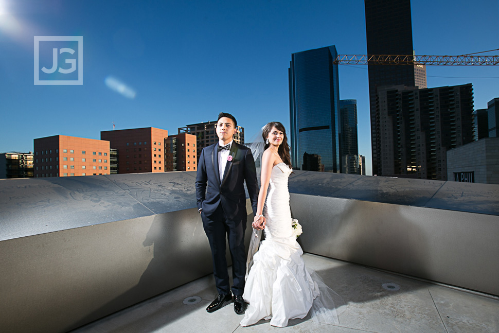 Walt Disney Concert Hall Wedding Photos