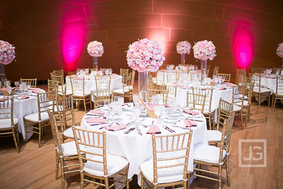 Walt Disney Concert Hall Wedding Reception