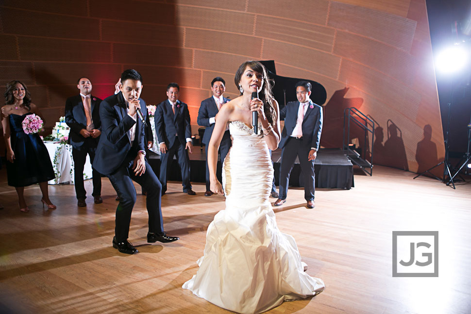 Rapping Wedding Grand Entrance