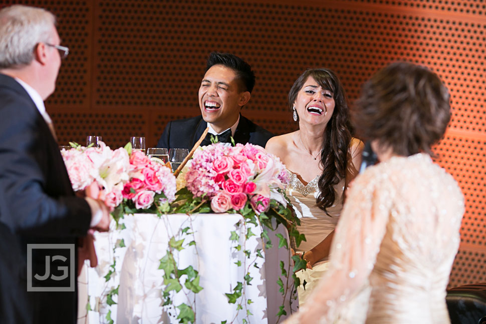 Walt Disney Concert Hall Wedding Reception Speeches