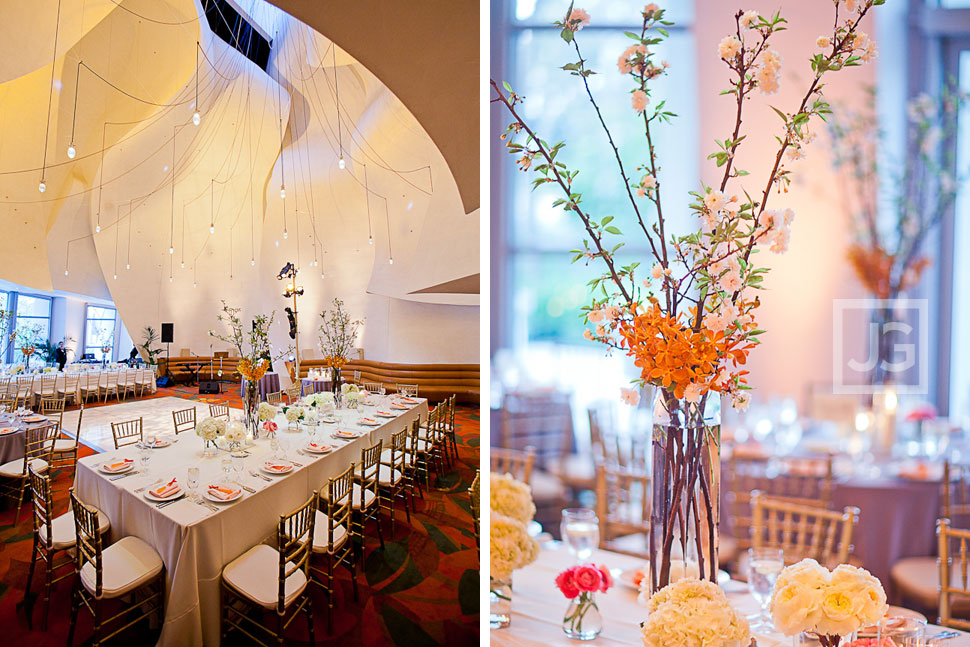 Walt Disney Concert Hall Wedding Reception