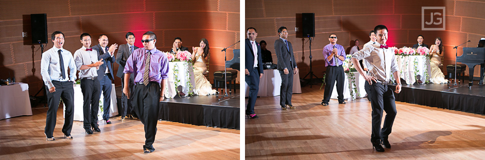 Walt Disney Concert Hall Wedding Reception Games