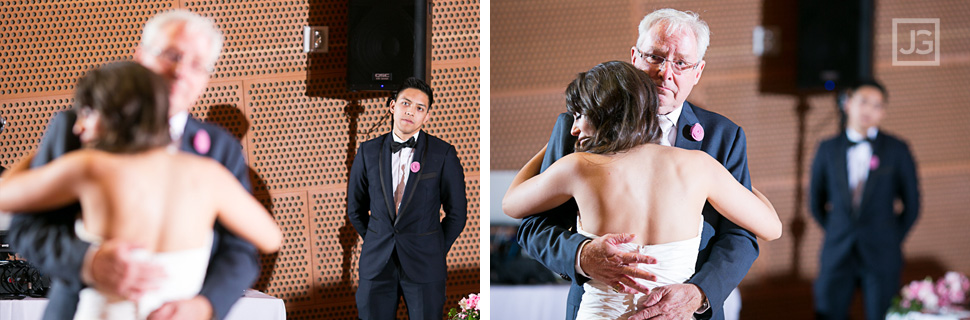 Walt Disney Concert Hall Wedding Reception Dances