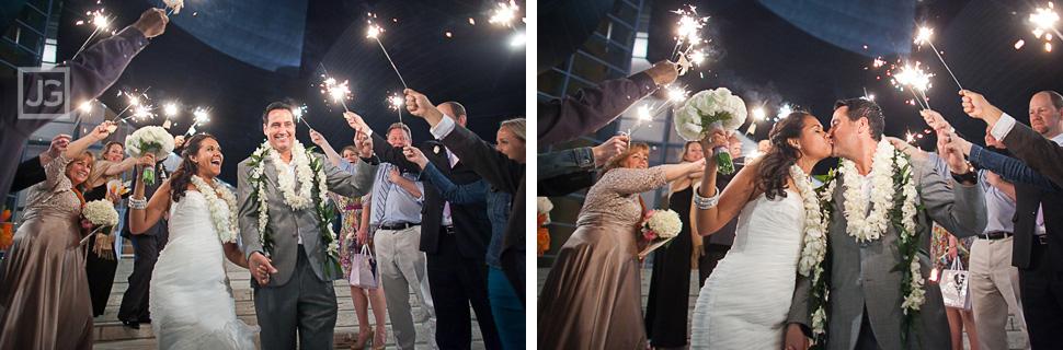 Wedding Reception Sparkler Grand Exit