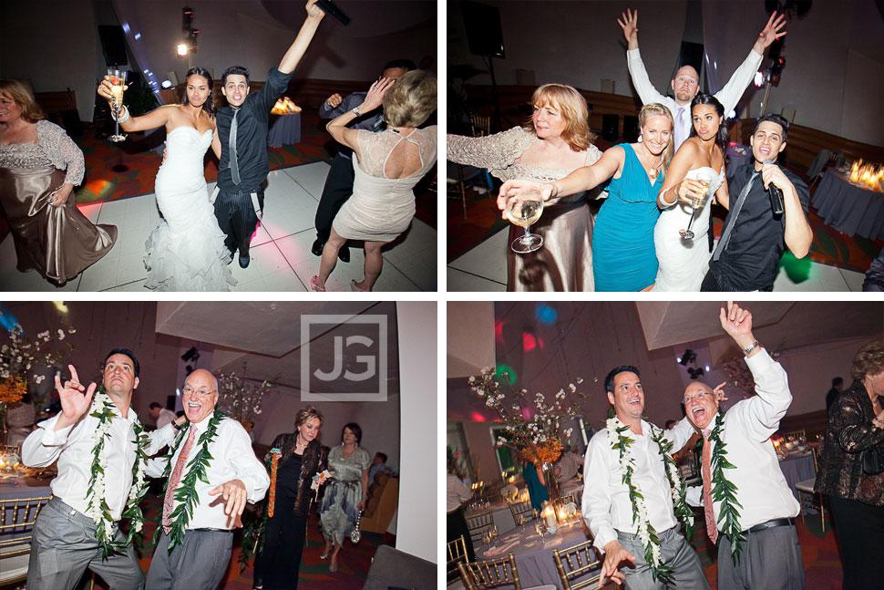 Walt Disney Concert Hall Wedding Dancing