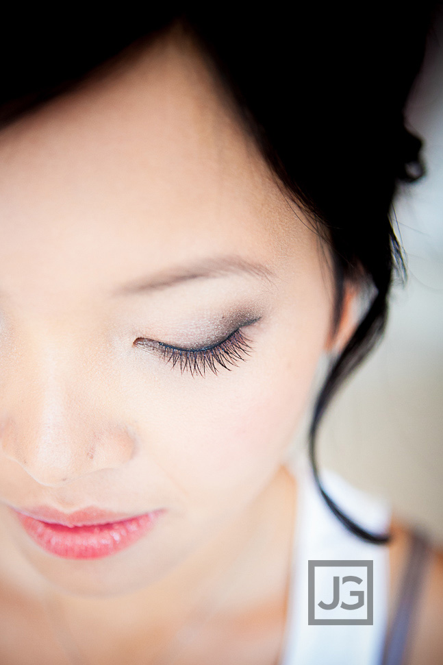 Wedding Hair and Makeup Eye Lashes
