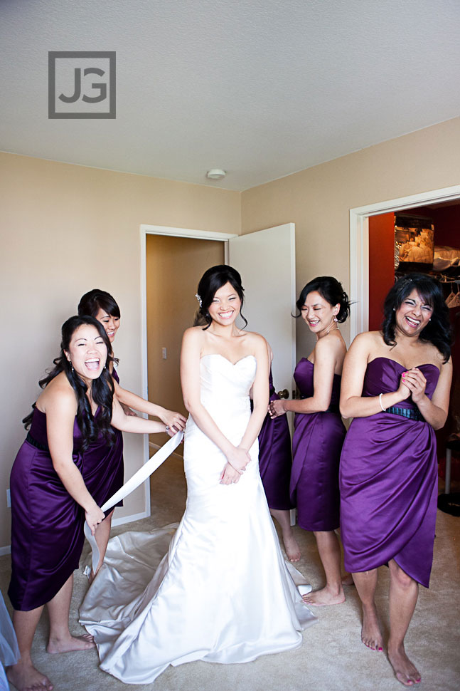 Wedding Dress Preparation