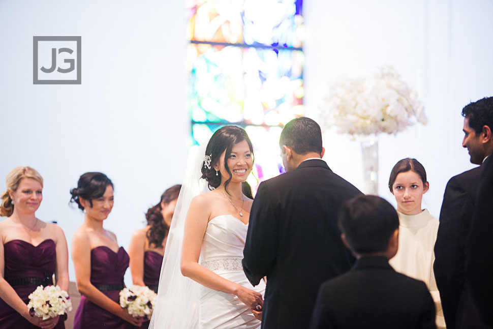 Holy Family Cathedral Wedding Ceremony
