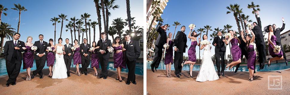 Hilton Waterfront Beach Resort Wedding Party