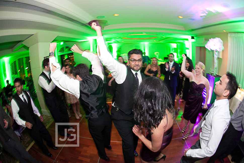Hilton Waterfront Beach Resort Wedding Reception Dancing