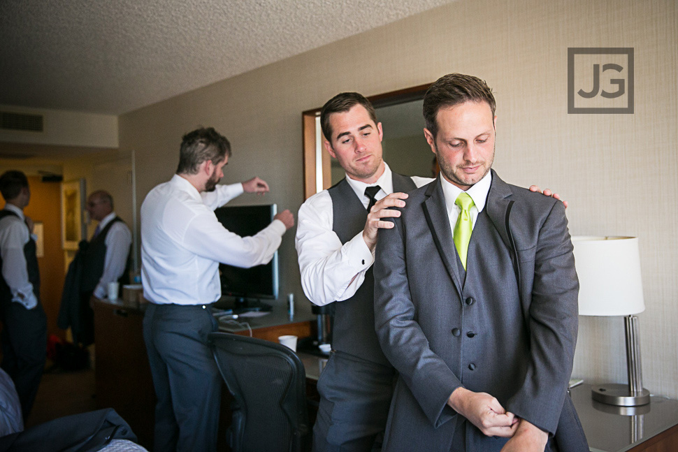 Westin San Diego Wedding Preparation