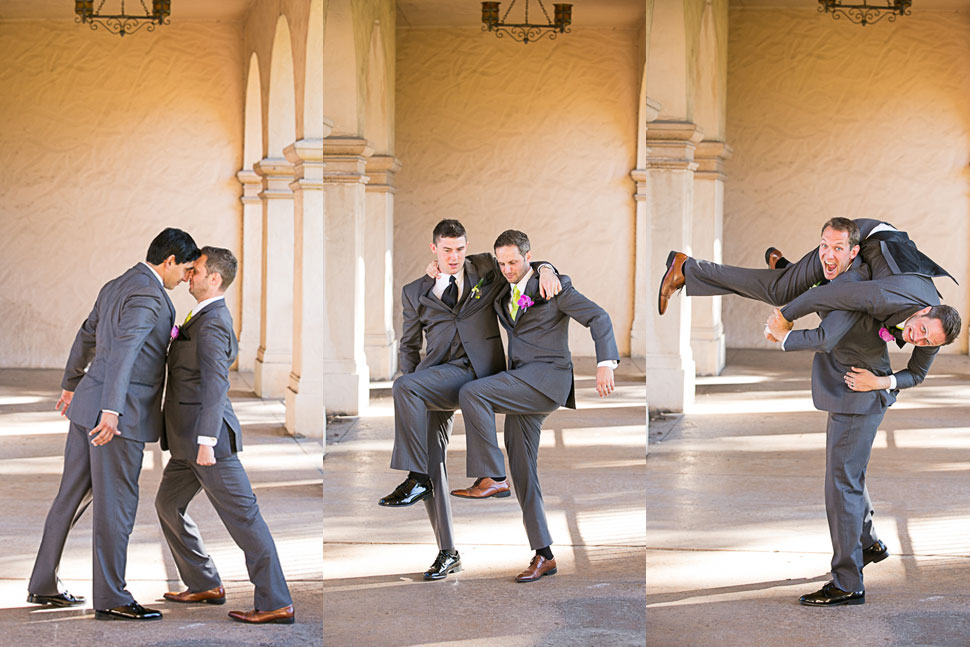 Balboa Park Wedding Party Photos