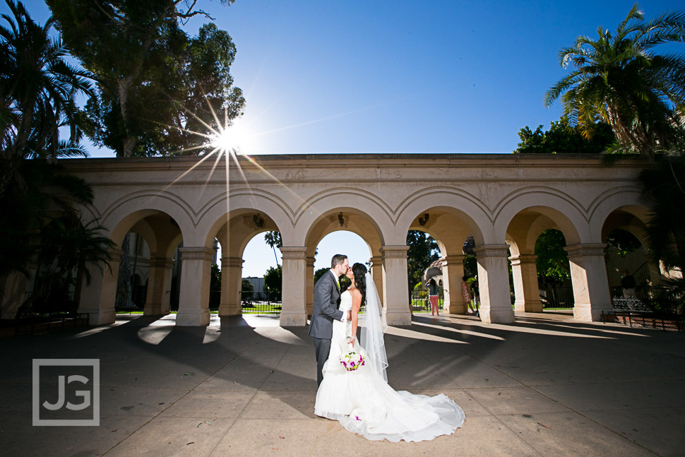 Wedding Photography at Balboa Park