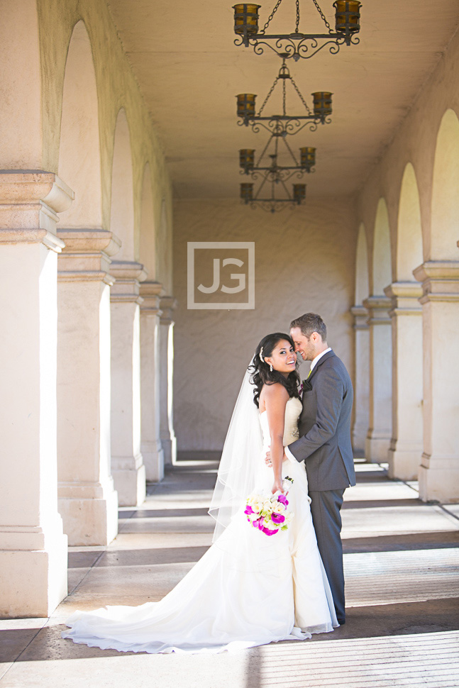 Wedding Photography at Balboa Park San Diego
