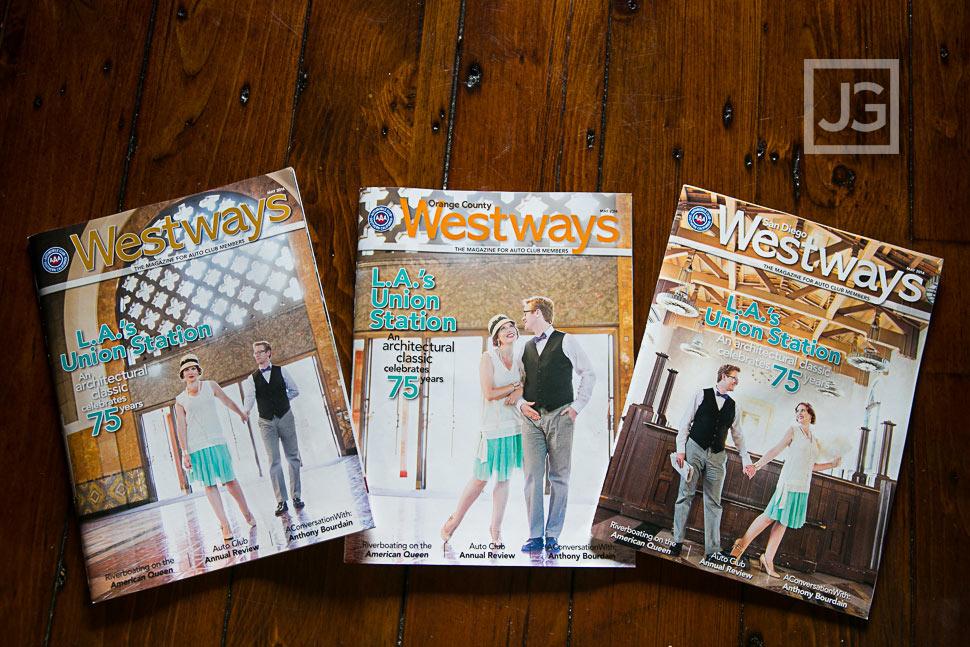 Published!  Westways Magazine Cover Photography